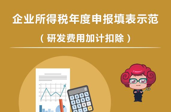 企业所得税年度申报填表示范