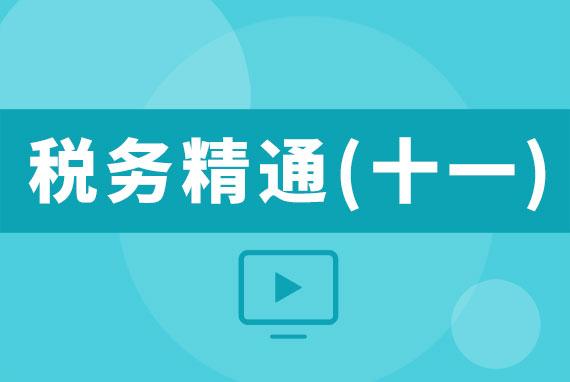 【直播】20170601税务精通(十一)